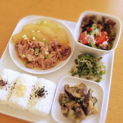 豚肉と冬瓜の炒め煮_b0102217_1225987.jpg