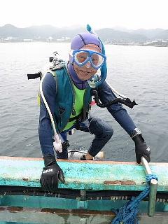 ダイビングにおける女性の適性度。_b0141773_17475531.jpg