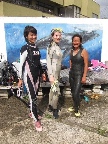 ダイビングにおける女性の適性度。_b0141773_17595421.jpg
