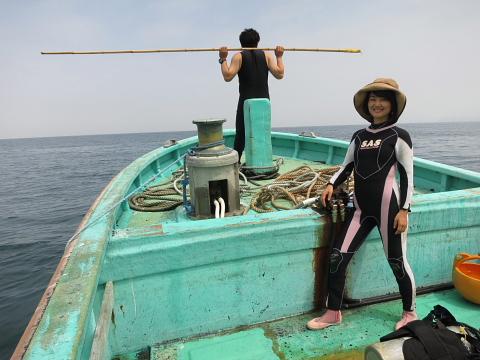 ダイビングにおける女性の適性度。_b0141773_1813589.jpg