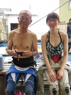 ダイビングにおける女性の適性度。_b0141773_18173459.jpg