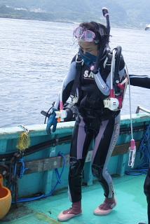 ダイビングにおける女性の適性度。_b0141773_18201915.jpg