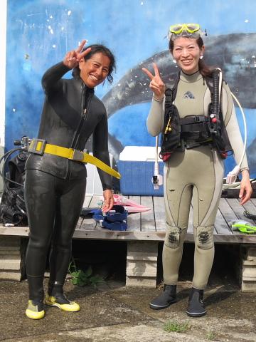 ダイビングにおける女性の適性度。_b0141773_1852716.jpg