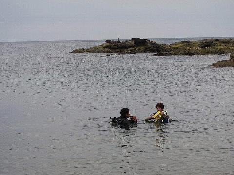 ダイビングにおける女性の適性度。_b0141773_187377.jpg