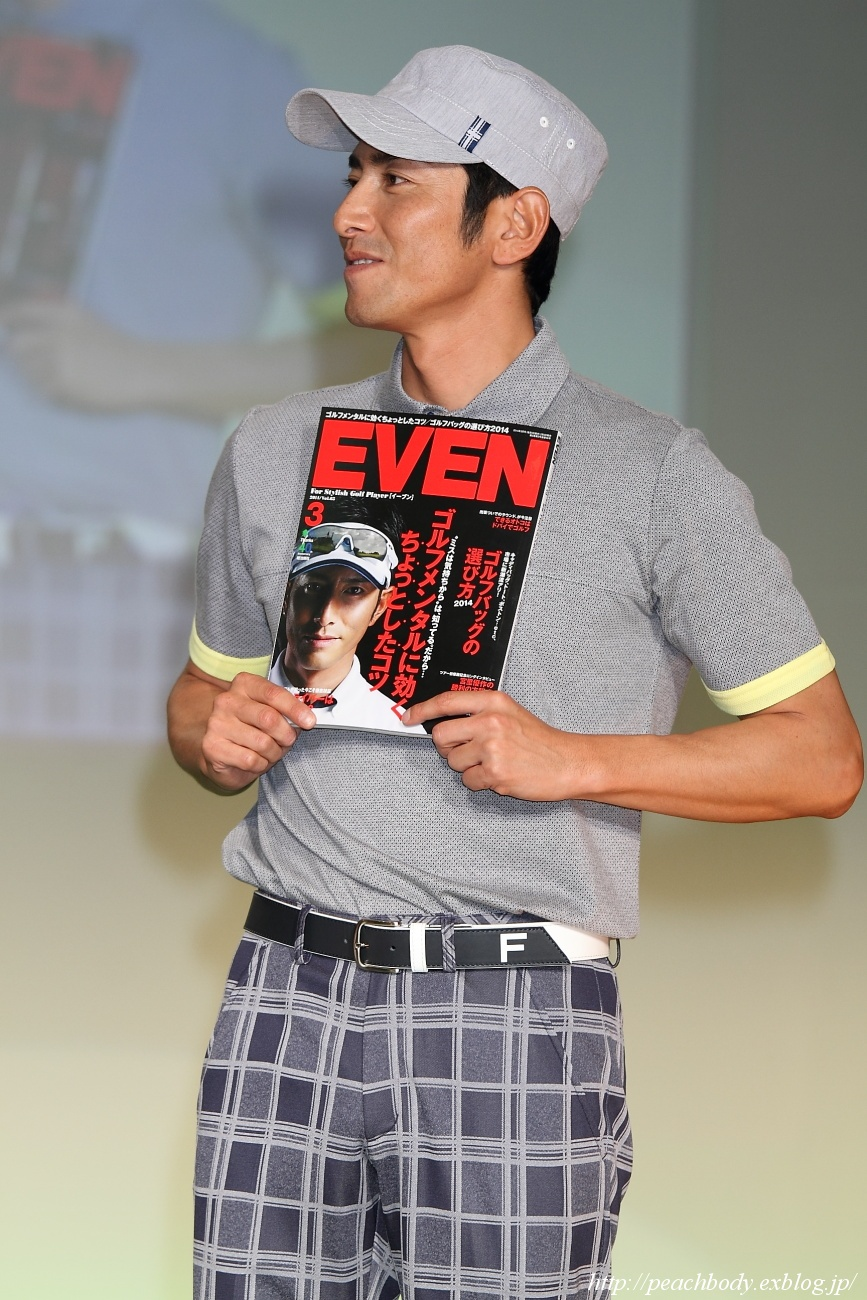 EVEN & RAKUEN GOLF Style Collection 2014(STAGE 3) その30_c0215885_20575614.jpg