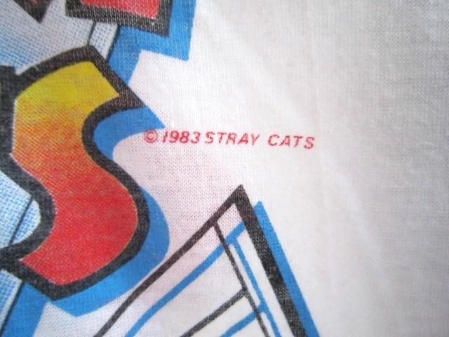 ネオロカビリーの火付け役のSTRAY CATSのラグランTシャツ_a0182112_19505289.jpg