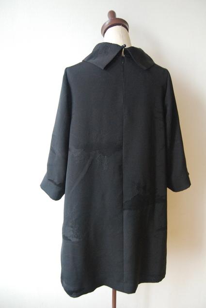 着物リメイク・羽織からロールカラーのチュニック_d0127925_1433202.jpg
