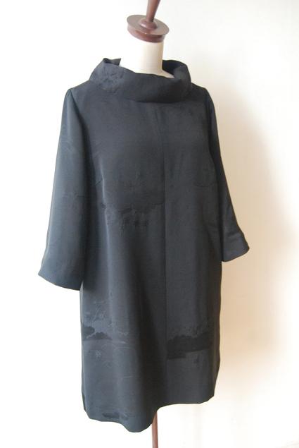 着物リメイク・羽織からロールカラーのチュニック_d0127925_1433395.jpg