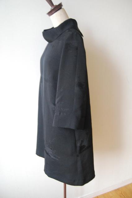 着物リメイク・羽織からロールカラーのチュニック_d0127925_14341171.jpg