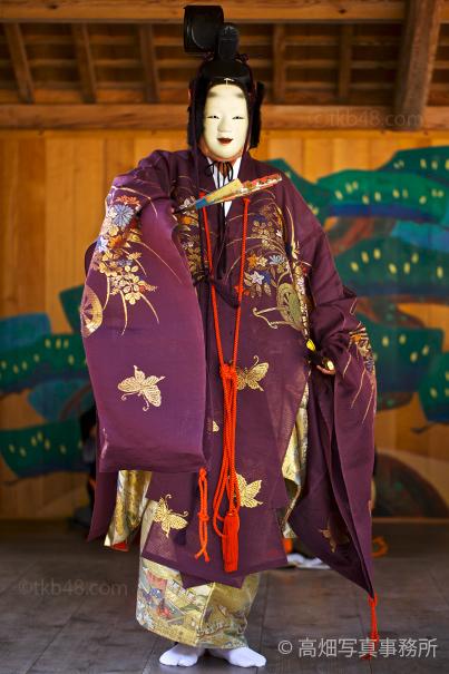 能楽奉納「風祈能」 The Noh performance for pray to God._e0245846_20523082.jpg