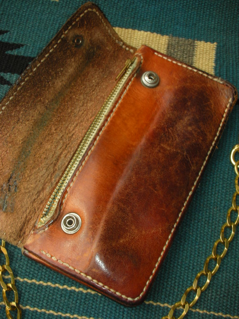 RAWHIDE Trucker Wallet used sample_c0187684_17523934.jpg