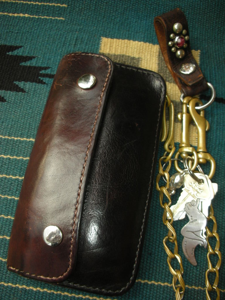 RAWHIDE Trucker Wallet used sample_c0187684_17563531.jpg