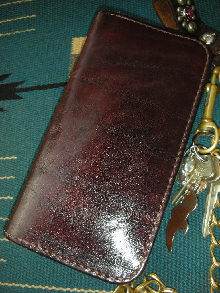 RAWHIDE Trucker Wallet used sample_c0187684_1757488.jpg