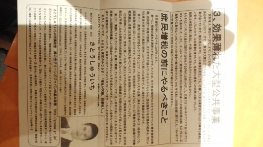 文京区役所前で【イタすぎる消費税増税】と訴え_e0094315_17191534.jpg