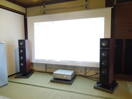 お宅訪問記【Pioneer A-70 & KEF Q500 version up】_c0113001_13164376.jpg