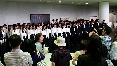 早稲田大学合唱団が来た!_d0050503_2359382.jpg