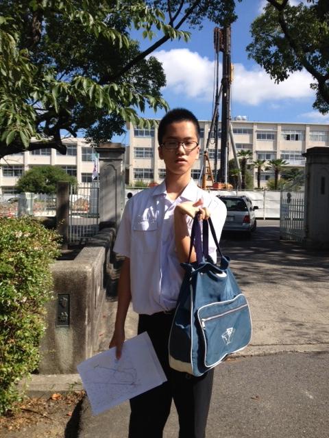 ハルトの高校・体験入学に行ってきました!_d0127925_1531376.jpg