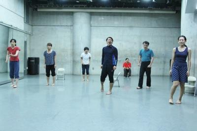 神楽坂ダンス学校夏校のプレゼンを前に猛特訓_d0178431_18460658.jpg