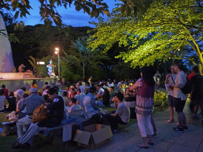 大船ビアフェスタで夜景眺めながら北鎌倉の恵みを味わう_c0014967_23214968.jpg