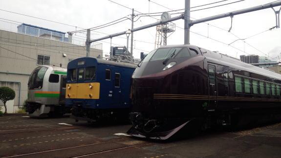 東京総合車両センター 夏休みフェア -1- 車両基地!_a0268377_22355768.jpg