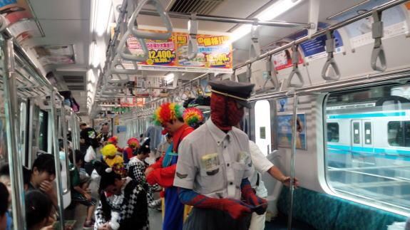 東京総合車両センター 夏休みフェア -2- 山手線一周!_a0268377_23230763.jpg