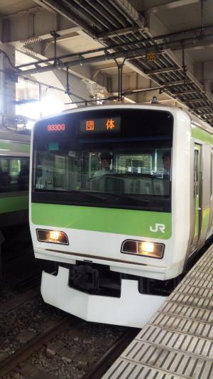 東京総合車両センター 夏休みフェア -2- 山手線一周!_a0268377_23295445.jpg