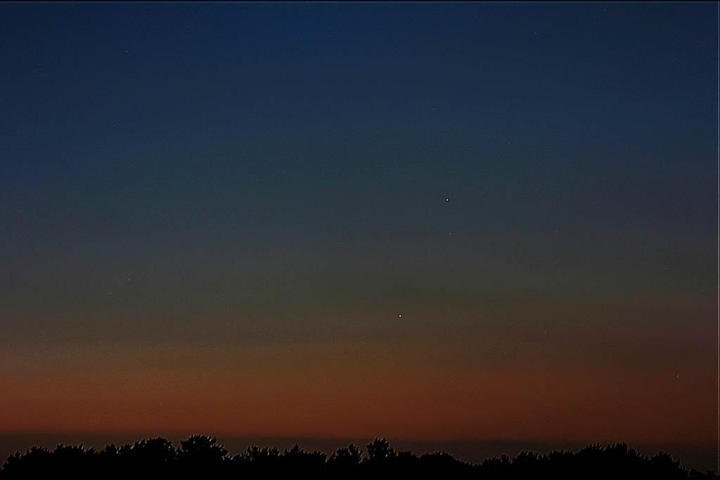 ムナグロ/アオアシシギ/金星・木星&月_b0024798_10364469.jpg