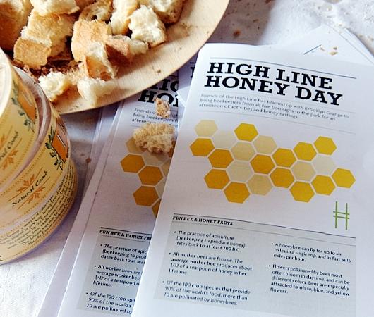 ハイラインで地元産の蜂蜜を集めたマーケットに遭遇_b0007805_13271190.jpg