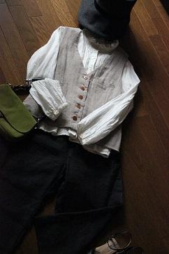 秋冬のスタイリング ウールとベロアの帽子・・・♪_f0168730_12385870.jpg