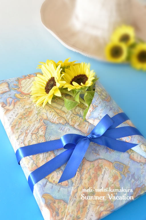 ◆Wrapping*Summer Vacation_f0251032_12295642.jpg