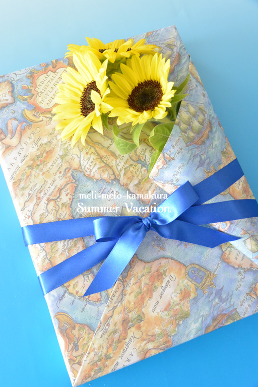 ◆Wrapping*Summer Vacation_f0251032_12304443.jpg