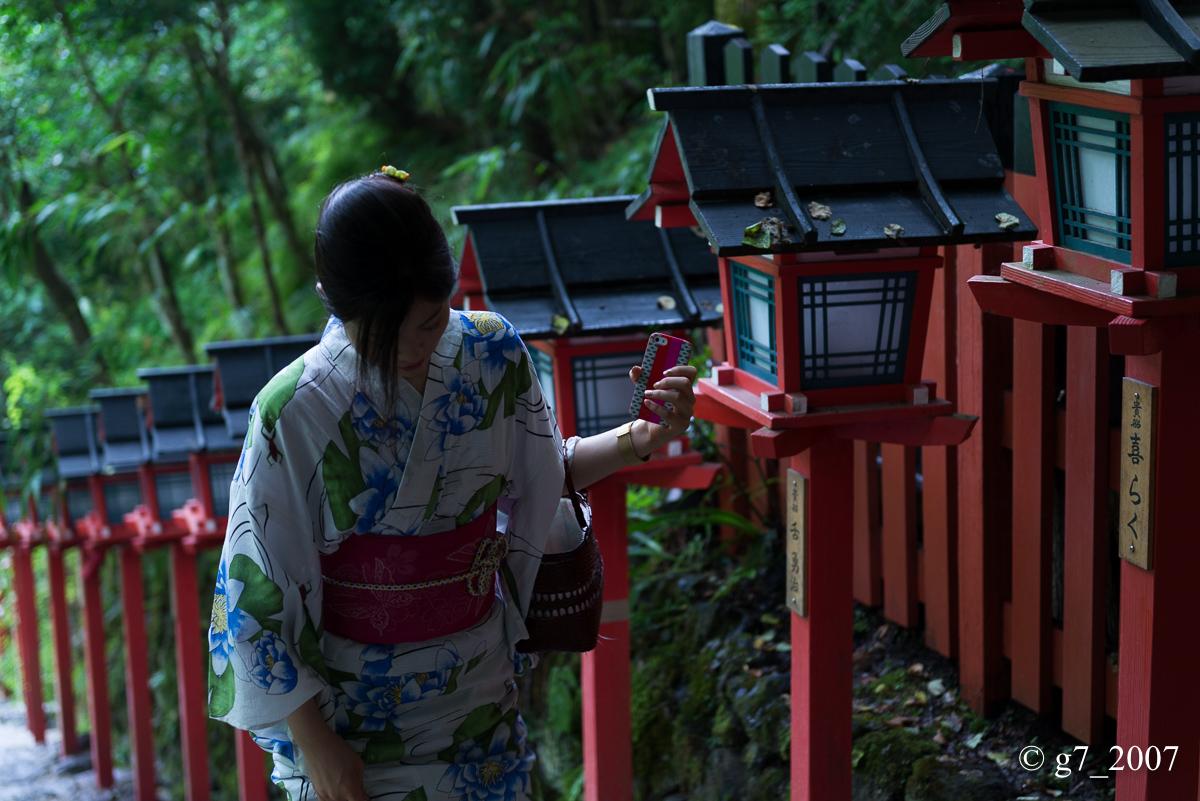 貴船神社 〜1〜_f0152550_1612235.jpg