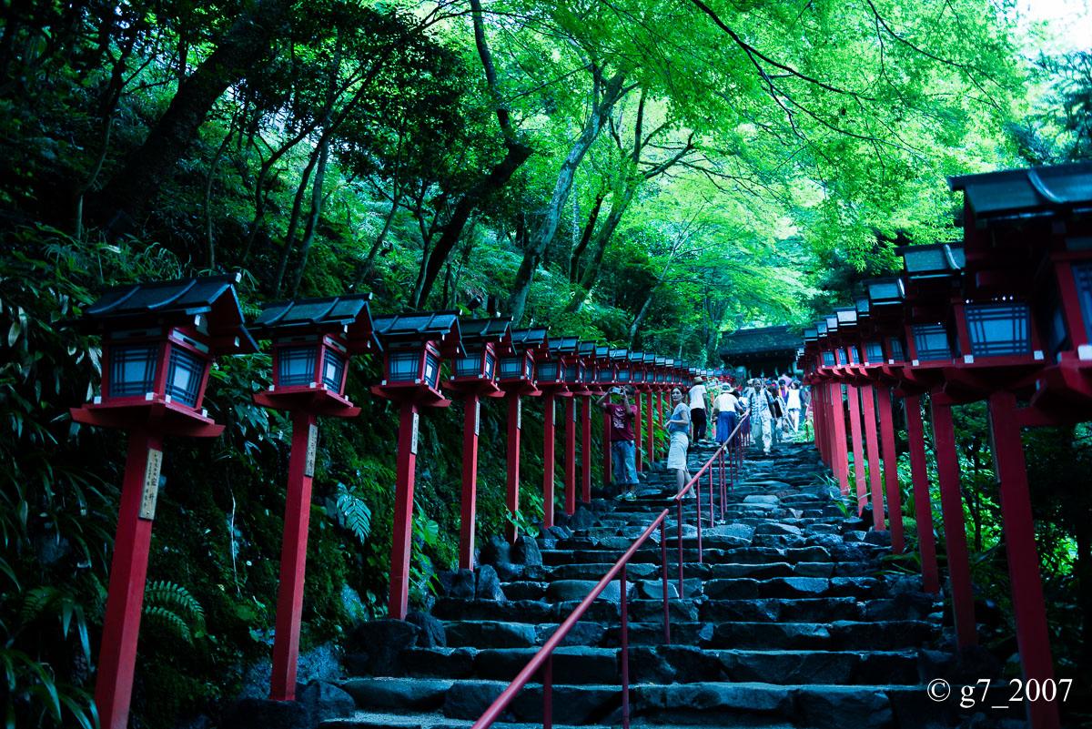 貴船神社 〜1〜_f0152550_1617490.jpg