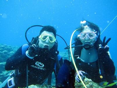 ダイビング☆シュノーケルでもウミガメに会えました!!_a0156273_19434843.jpg