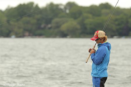 Bassmaster Elite Series #8 Cayuga Lake, NY  3日目_a0097491_10392415.jpg