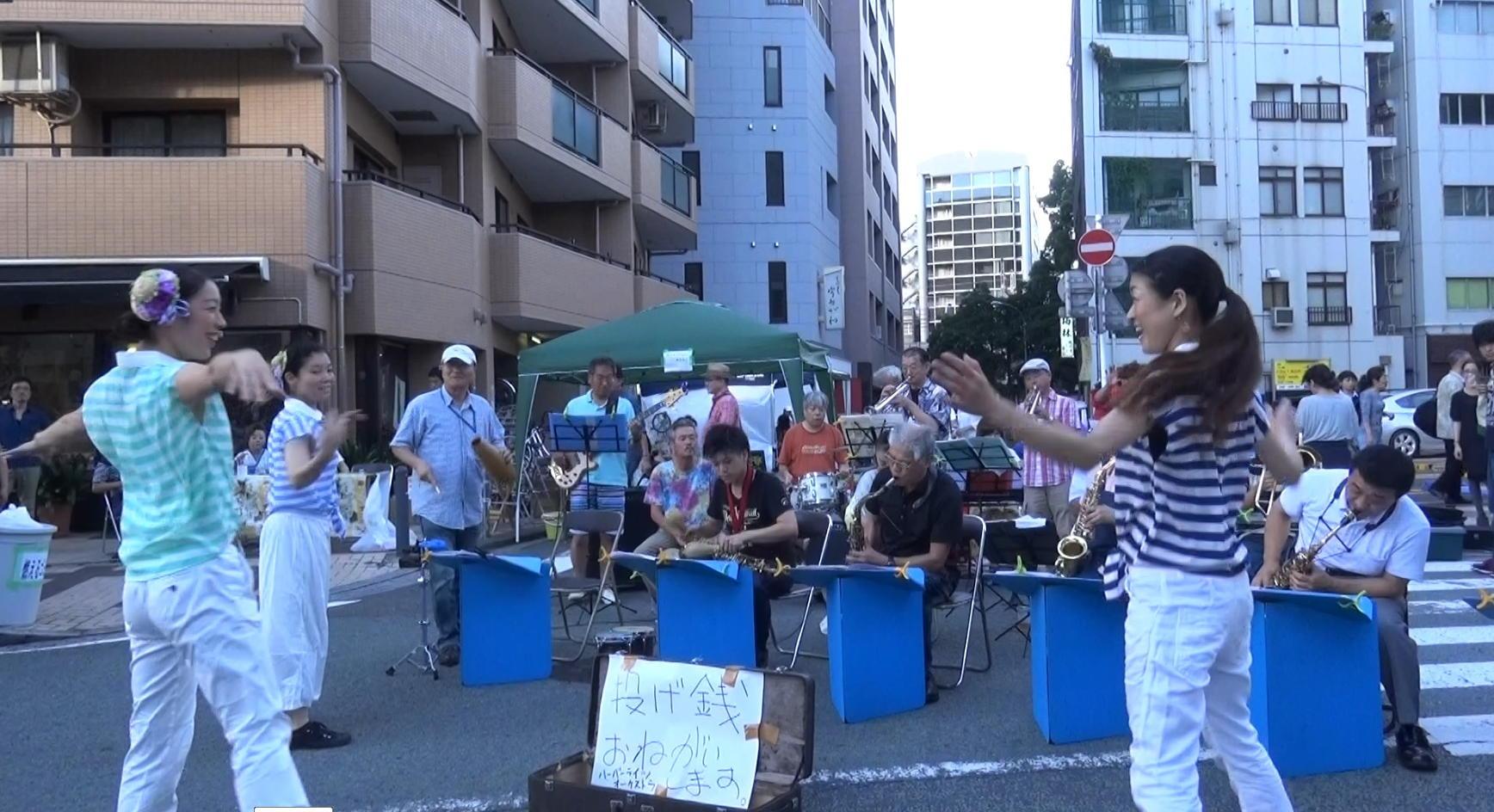 横浜吉田まちじゅうビアガーデンのフェスティバル14.8.23_e0221892_11144162.jpg