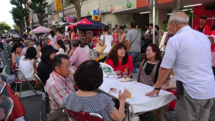 横浜吉田まちじゅうビアガーデンのフェスティバル14.8.23_e0221892_11150412.jpg