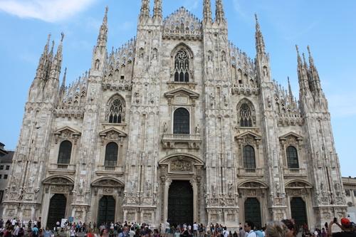 イタリアへの旅その10―ミラノドォーモの上、ディナー、Hotel Principe de Savoiaの朝食、帰路_e0123104_6452662.jpg