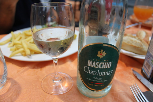 イタリアへの旅その10―ミラノドォーモの上、ディナー、Hotel Principe de Savoiaの朝食、帰路_e0123104_6485177.jpg