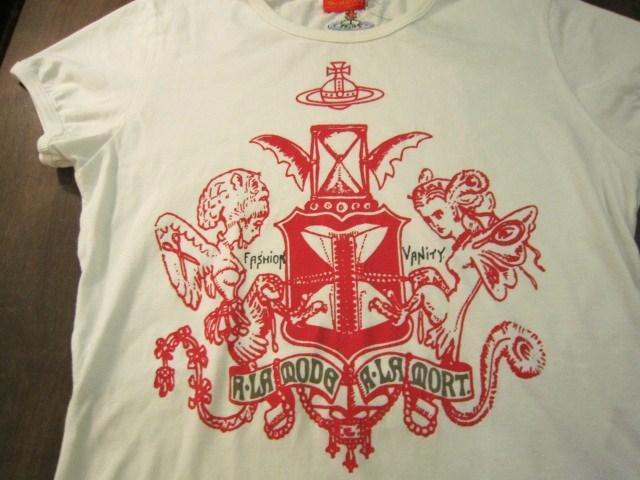 ヴィヴィアン・ウエストウッドとワールズエンドクラシックスのTシャツ_a0182112_16363830.jpg