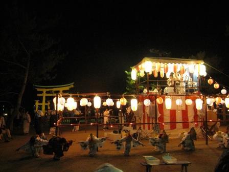 宮島踊りの夕べ_f0229523_1674510.jpg