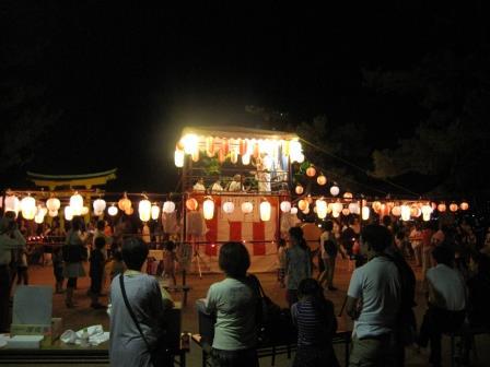宮島踊りの夕べ_f0229523_1681720.jpg