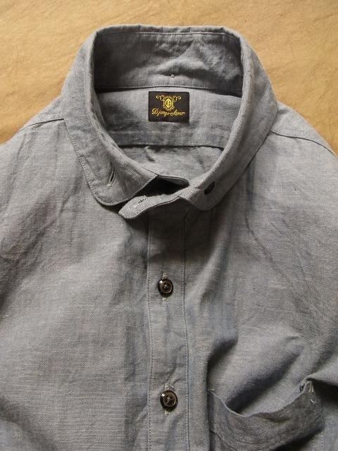 ラウンドカラーBDシャツ シャンブレー_e0130546_1842744.jpg