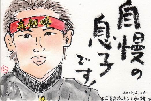 2014甲子園 番外編 「自慢の息子です」_b0124466_19121717.jpg
