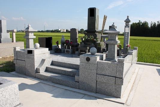 墓石再建工事2_d0154292_1001441.jpg