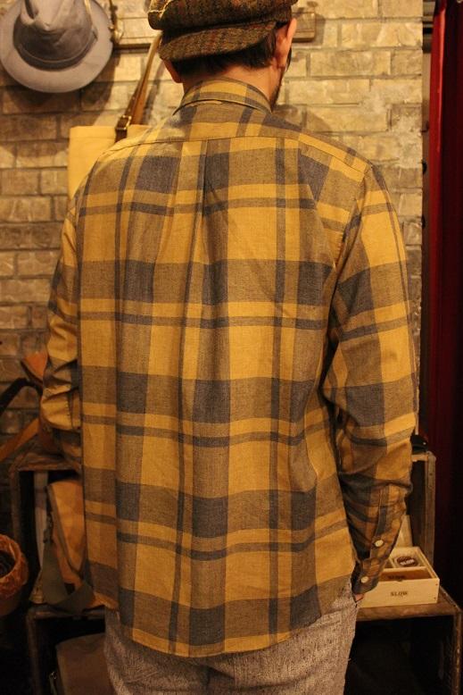 "melple \""チェックWポケットシャツ\"" ご紹介_f0191324_9121061.jpg"