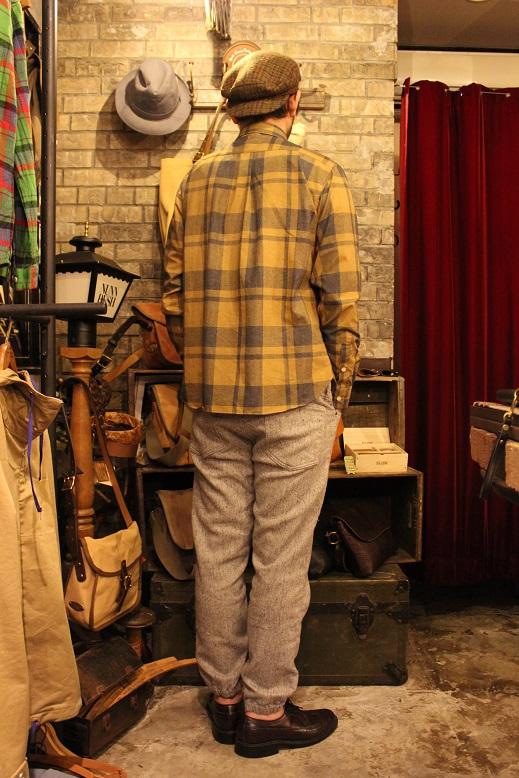 "melple \""チェックWポケットシャツ\"" ご紹介_f0191324_9122390.jpg"