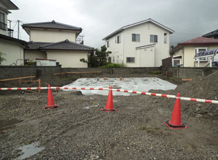 笹部 店舗併用住宅 工事始まりました!_e0180332_16531086.jpg