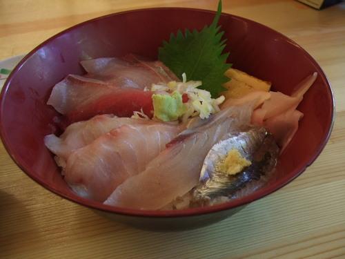房総海の幸、ばんやの海鮮丼_f0093733_1313441.jpg