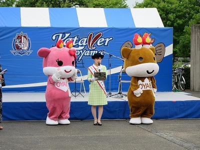 カターレ富山 ホームタウンデー第4回「T-1グランプリ」_c0208355_1353946.jpg